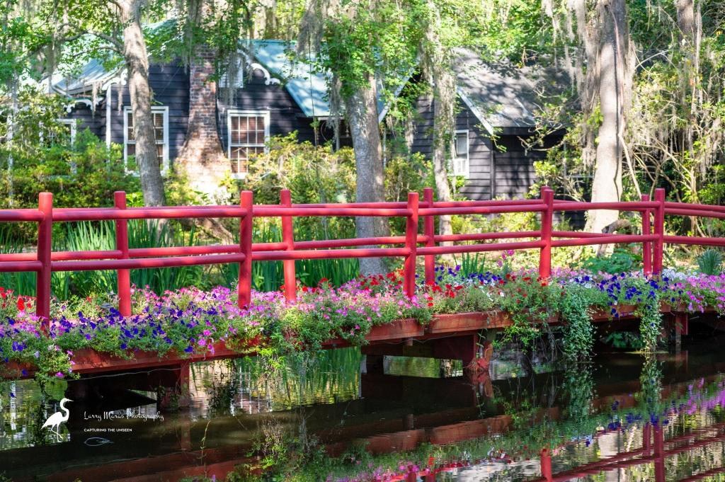 Red Bridge, Magnolia Gardens